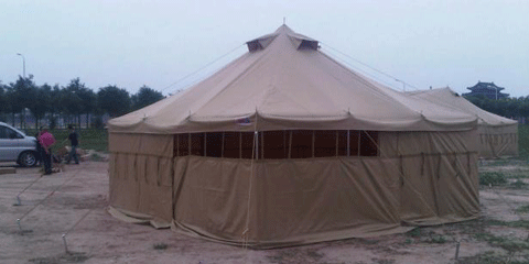 Canvas Frame Tents